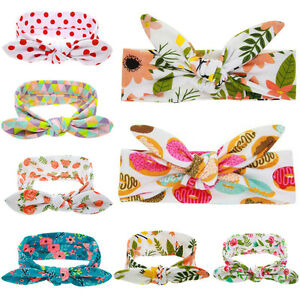 Baby-Kids-Children-Floral-Headband-Bow-Knot-Hairband-Girls-Boys-Hair-Accessories