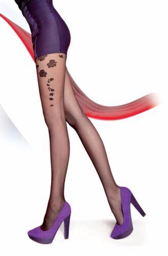 S/&M Fiore LUKRECJA 20 Den Pantyhose Tigths Nylons Hosiery Size