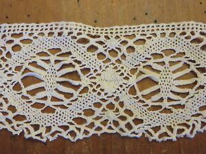 2 Anciens Galons Bordure Guipure Crochet Dentelle 2 X 1.1 M Laissons Nos Produits Aller Au Monde