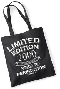 Image Is Loading 18th Birthday Gift Bag Tote Shopping Limited Edition
