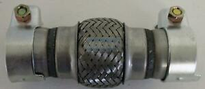 Flexrohr-Flexstueck-flexibles-Kruemmerrohr-Hosenrohr-50x100x190mm-mit-Schellen