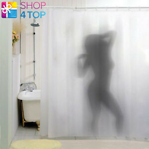 Image Is Loading SEXY NAKED GIRL WOMAN SHADOW SILHOUETTE BATH SHOWER
