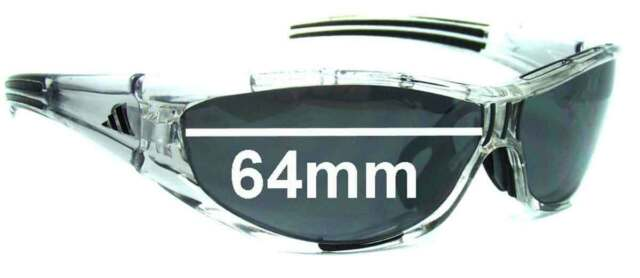Adidas Brille A127 Evil Eye Pro S Race Transparent Orange 6080 For Sale Online Ebay