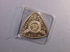 2001 Slovakia Slovak 500 Korun Silver Proof Coin Start 3rd Millenium Republic BU