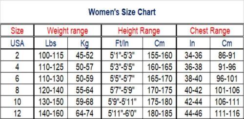 Full Wetsuit Women 3//2 mm Suit Long Sleeve Scuba Diving Surfing Various Sizes