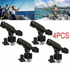 For Kayak Boat Fishing Pole Rod Holder Tackle Kit 4PC Adjustable Side Rail Mount