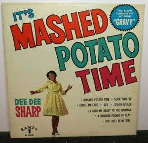 DEE DEE SHARP IT'S MASHED POTATO TIME (VG+) C-1018 LP VINYL RECORD