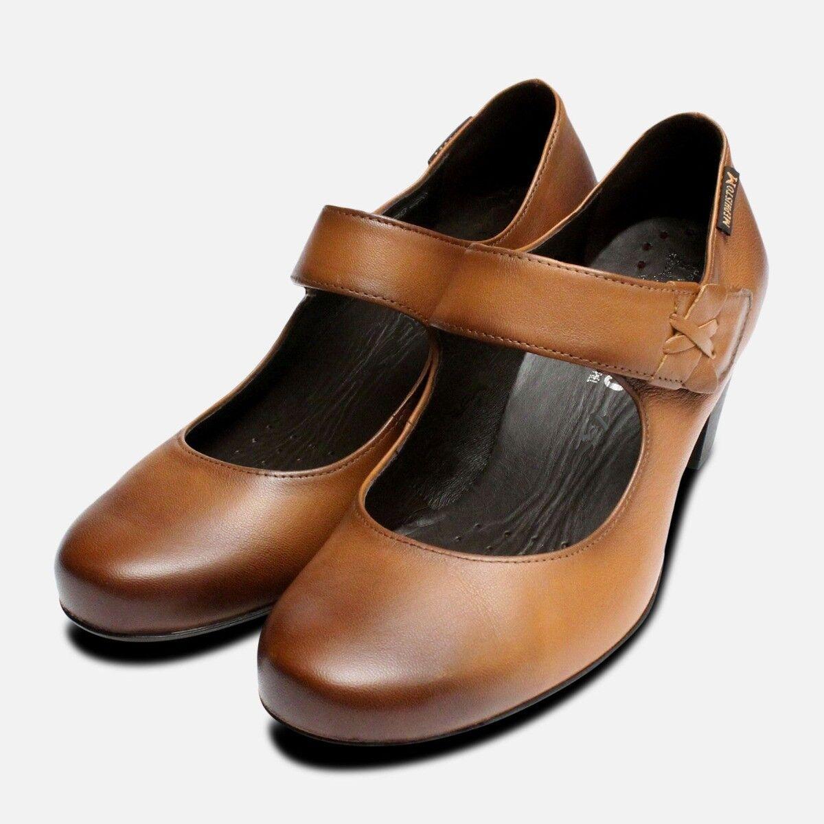 Mephisto Madisson Chaussures Femmes En Noisette Marron