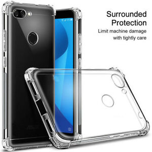 uk availability 997a0 60a58 Details about For Asus Zenfone 3s 3 4 Max Plus (M1) 5 5z Clear Shockproof  360°TPU Cover Case