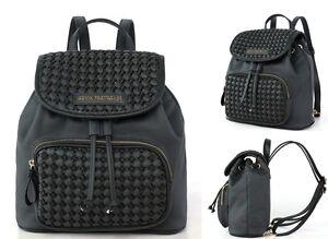 Damen-Bagpack-Backpack-Damentasche-Rucksack-Lederrucksack-Nieten-Tasche-034-Yucca-034