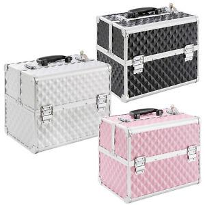 Kosmetikkoffer-Beautycase-Werkzeugkoffer-Multikoffer-Schminkkoffer-in-3-Farben