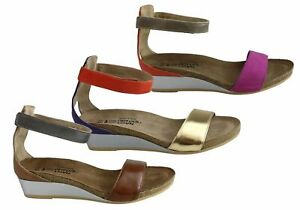 NEW-NAOT-PIXIE-WOMENS-LEATHER-COMFORTABLE-CUSHIONED-WEDGE-SANDALS