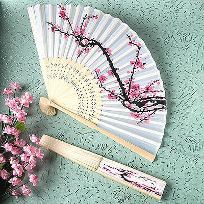 Segnaposto Matrimonio Giapponese.Bomboniera Segnaposto Ventaglio Stoffa E Legno Bianco Stile