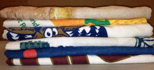 Random Printed Beach Light Weight Towels Lot of 12