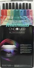 CND Shellac Combo~LED LAMP 9200 3C Tech + RAINBOW KIT 26-pc Power Gel Polish Set