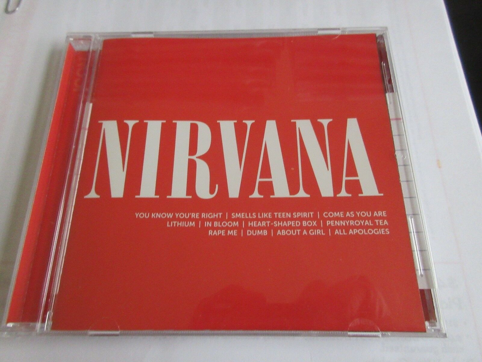 Nirvana, CD , Icon