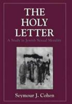 Holy Letter: A Study in Jewish Sexual Morality (Iggeret Hakodesh)  Hardcover Us