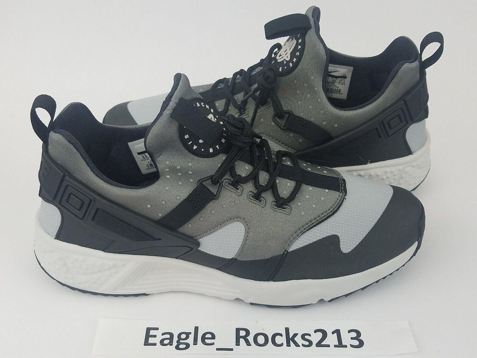 Huarache Air Nike 125 Run Base 806807 003 Black Grey Mens