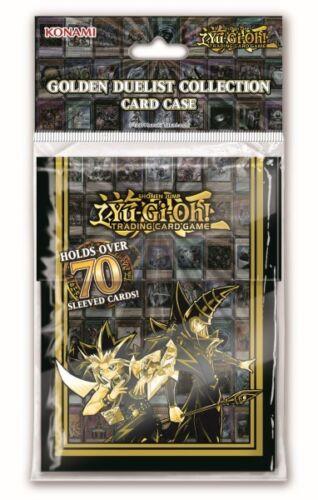 Yugioh Golden Duelist Collection Card Case Deck Box NEU OVP