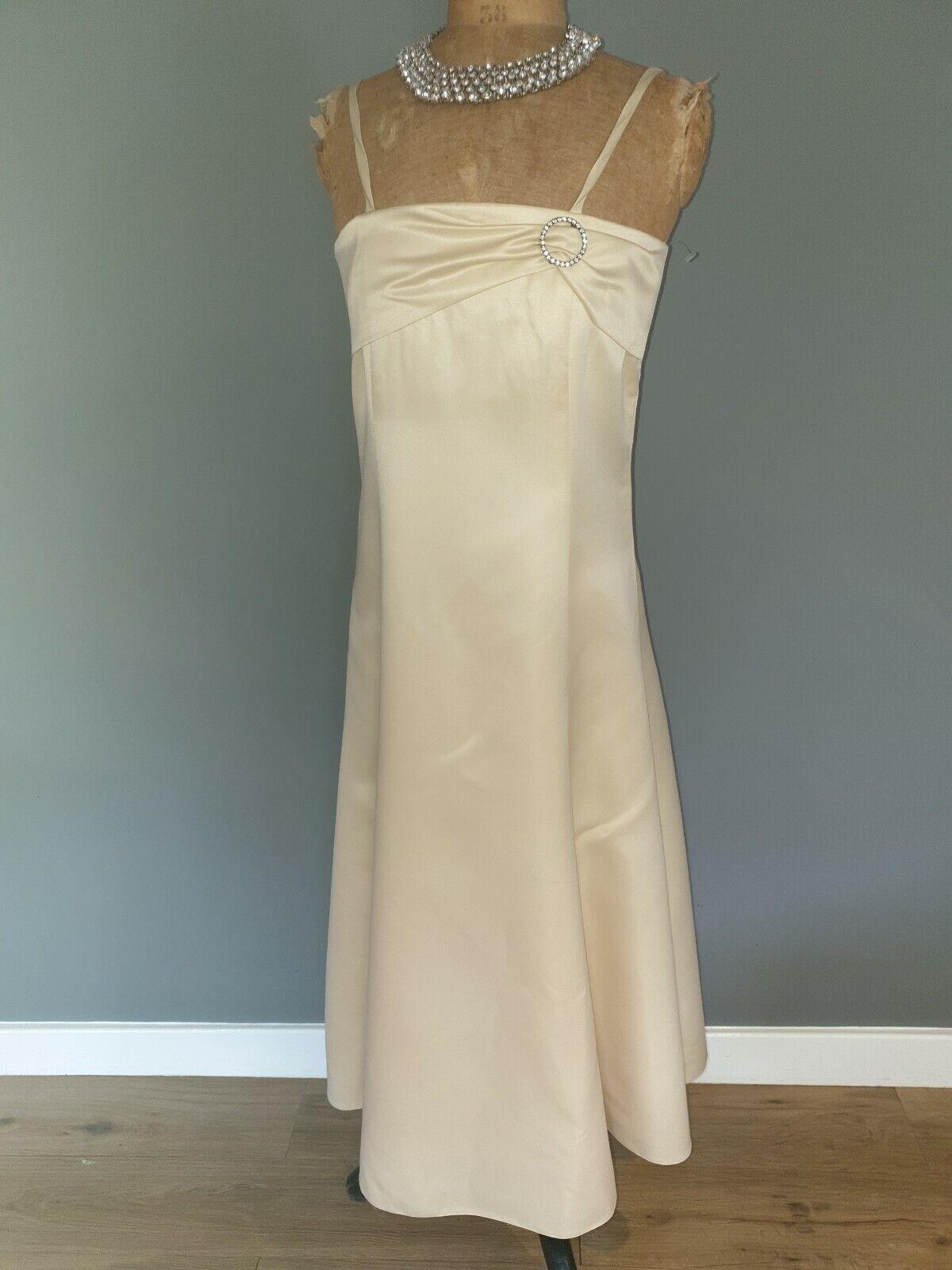 New Designer Handmade Long Occasion Dress Age 10 140 cm Bridesmaid/party