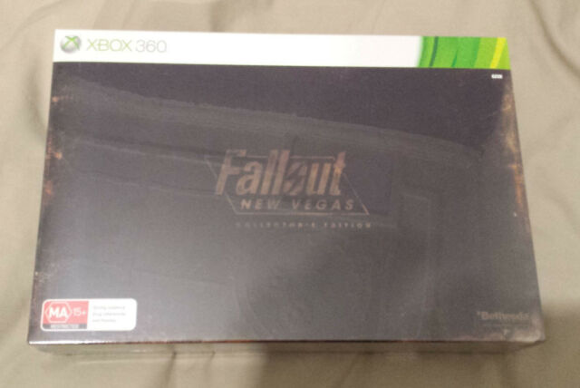 Fallout New Vegas Collectors Edition XBOX360 AUS PAL Brand New Factory Sealed