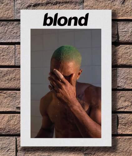 KX560 Frank Ocean Blonde Hip Hop Rapper Music Star Print 20x30 24x36 Silk Poster