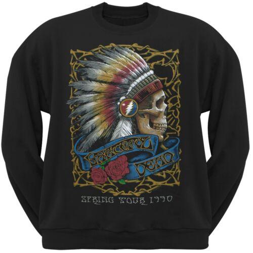 Spring Tour 1990 Crew Neck Sweatshirt Grateful Dead