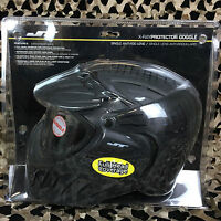 Jt X-ray Protector Full Coverage Paintball Mask Goggle - Single Lens - Black