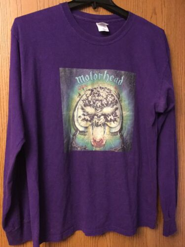 "Motorhead - ""Over Kill""   Purple Long Sleeve Shirt"