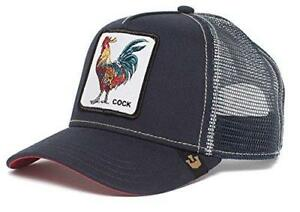 e3f39221 Goorin Bros. Men's Animal Farm Snap Back Trucker Hat, Navy Rooster ...