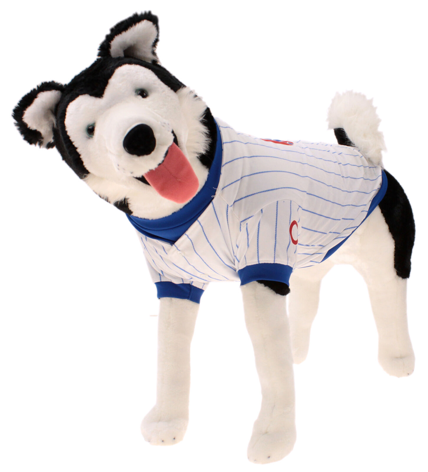 Sporty K9 MLB Chicago Cubs Pink Pet T-shirt X-Small