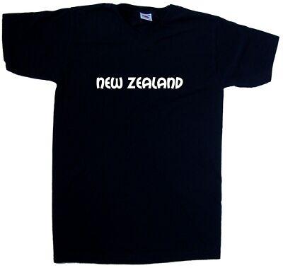 New Zealand text V-Neck T-Shirt