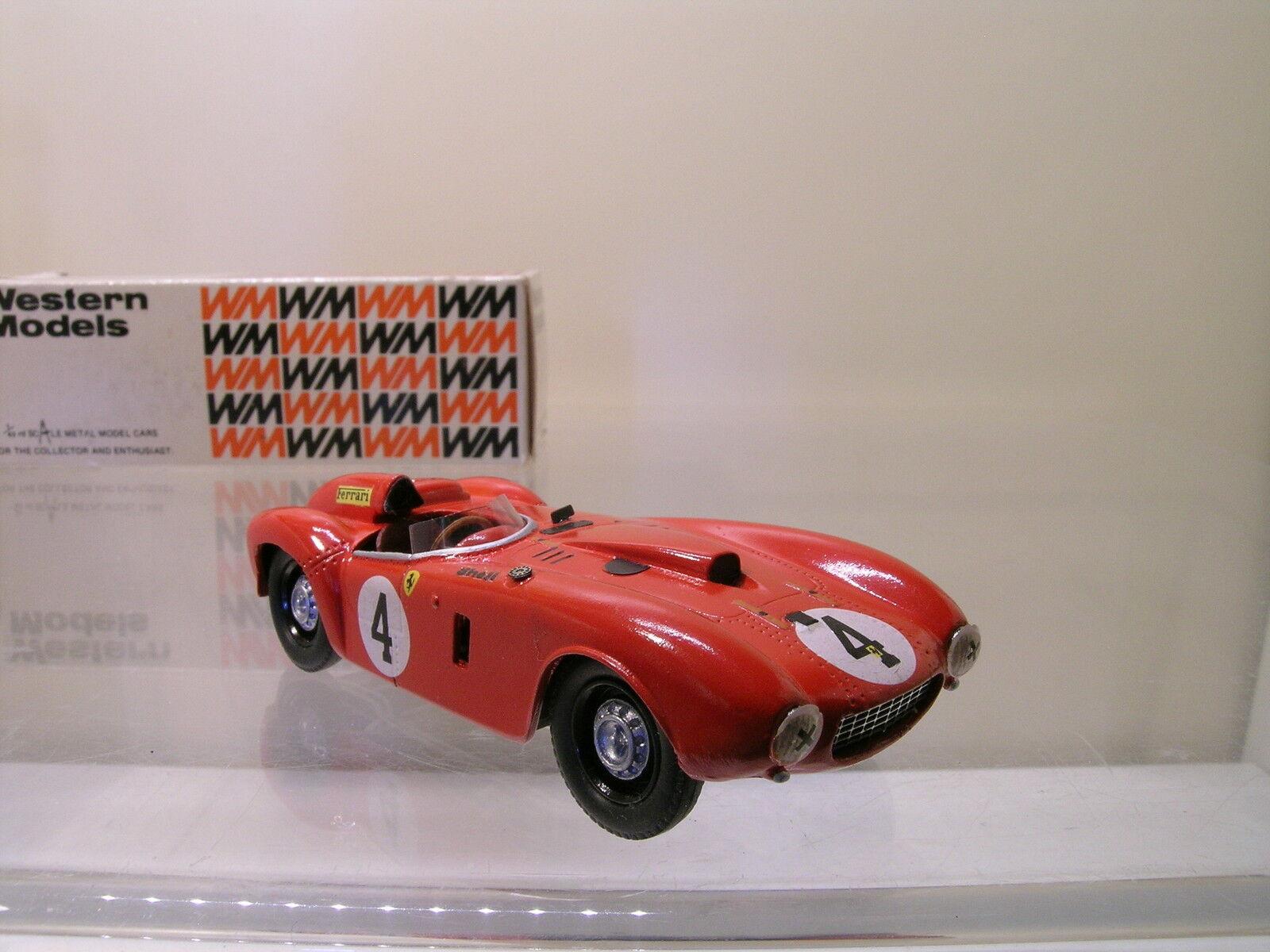 WESTERN MODELS WRK40 FERRARI 375 PLUS WINNER LM 4 1954 RED+ BOX 1 43
