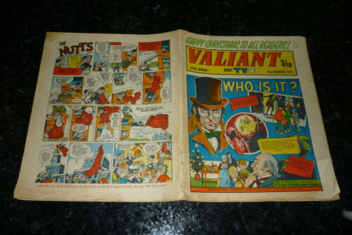 "Date 23//12//1972 VALIANT /& TV21 Comic Inc /""STAR TREK/"" Adventure UK Comic"