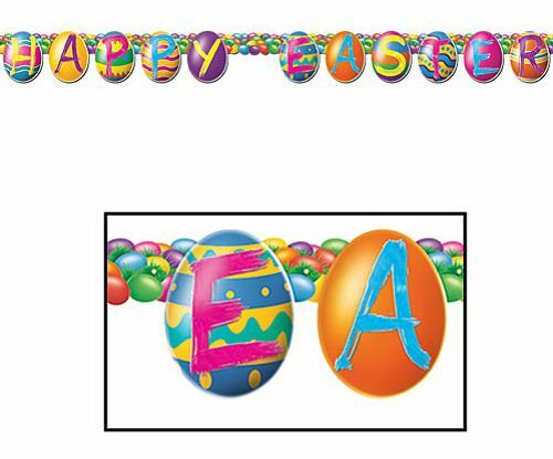 Happy Easter Jointed Letter Banner