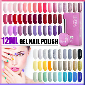 Lavender-Violets-12ml-UV-LED-Soak-Off-Nail-Gel-Polish-Professional-150-Colours