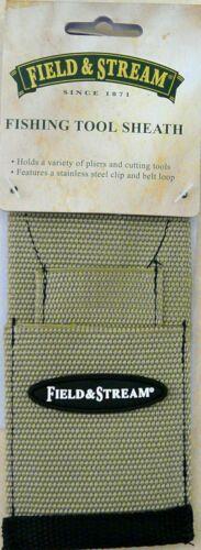 Field /& Stream 3 Position Fishing Tool Sheath Tackle Pliers Belt Clip Nylon J5