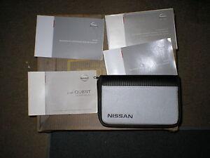 2008 nissan quest manual