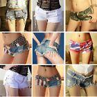 New Sexy Women Denim Jeans Shorts Short Hot Pants Low Waist Girls 8 Colors S M L