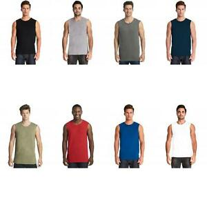 eee67852313933 Image is loading Next-Level-Apparel-Men-039-s-Muscle-Tank-