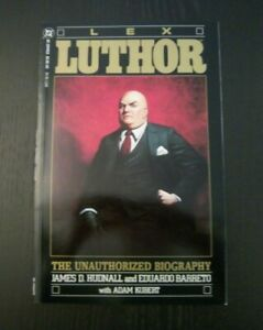 Lex Luthor: Unauthorized Biography Graphic Novel DC  Great Condition 1989 50K