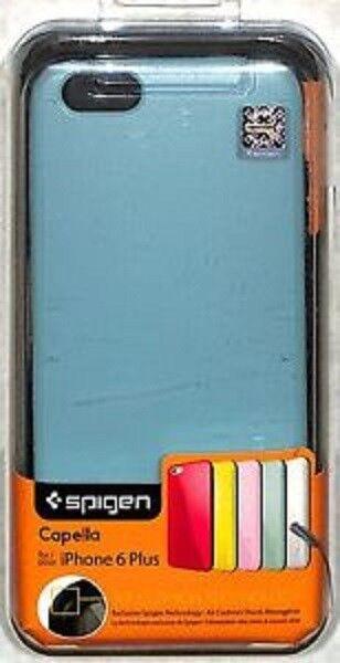 outlet store d9f63 cf74c Spigen iPhone 6 6s Plus Case Capella Shockproof Slim Cover MINT Green