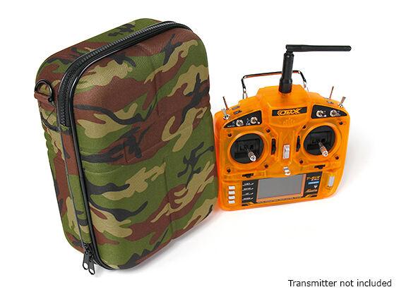 Caso Caso Caso Bolsa 4 transmisor Spektrum Futaba Jr DJI Taranis Compacto & fuerte Camo GRN  oferta de tienda