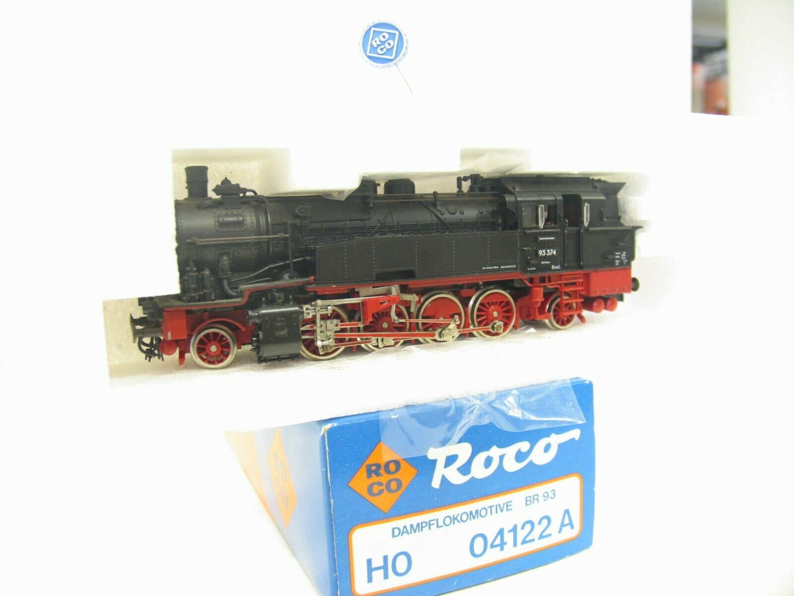 Roco 04122A Steam Locomotive BR 93 the Dr JS841