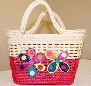 Image Is Loading Ecologist Palm Folk Art Handmade Mexican Bag Handbag