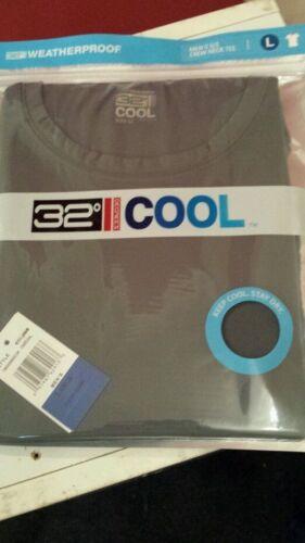 Quick Dry SportsTop Charcoal Weatherproof 32 Deg Cool Mens TShirt
