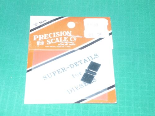 Air Filter Cabinet Cover 2nd gen. Precision Scale Co O scale #5699 EMD Elect