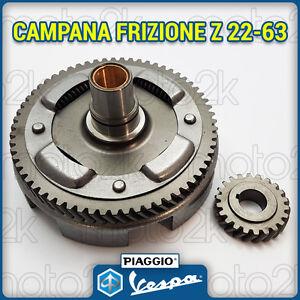 CAMPANA-FRIZIONE-ELICOIDALE-Z-22-63-MODIFICA-VESPA-APE-50-R-L-N-PK-SPECIAL