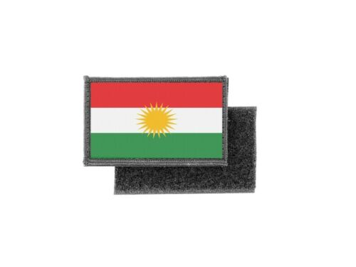 Flag patch printed badge country kurdistan kurds