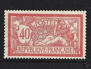 FRANCE-1900-STAMP-TIMBRE-YVERT-ET-TELLIER-119-034-MERSON-40c-034-NEUF-xx-LUXE-R122
